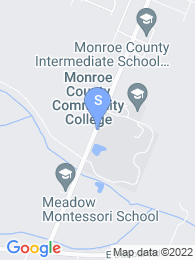 Monroe County Community College map