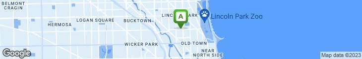 Map of HomeMade Pizza Company