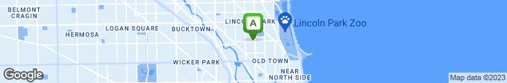 Map of Ethel's Chocolate Lounge