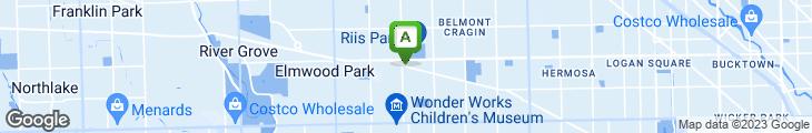 Map of Tony's