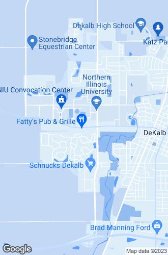 Map of Dekalb