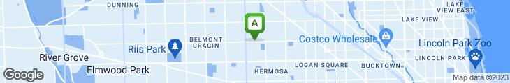 Map of Atino's Pizza & Mini Mart