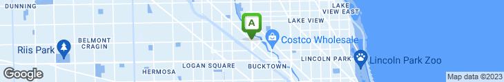 Map of Sonny's Restaurant & Pizzeria