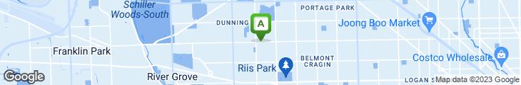 Map of Ambrogio's Italian Restaurant & Lounge