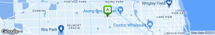 Map of Los Gutierrez Restaurant