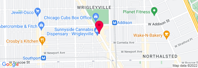 Map for Goose Island Wrigleyville
