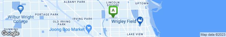 Map of Chicago Joe's