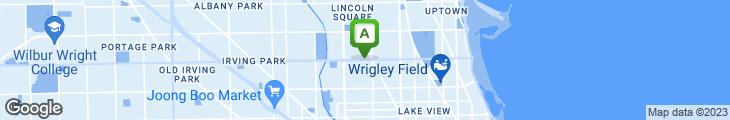 Map of O'Donovan's
