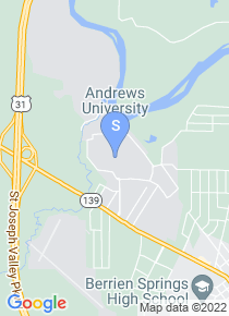 Andrews University map