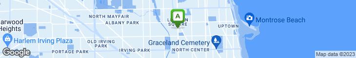 Map of Spoon Thai Restaurant