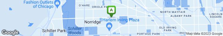 Map of Vince's Italian Restaurant
