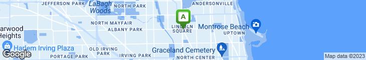Map of Garcia's Restaurant