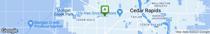 Map of Taco John's