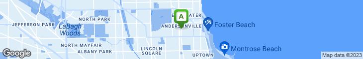 Map of Angel's Restaurant