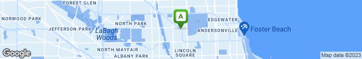 Map of Hub's Restaurant