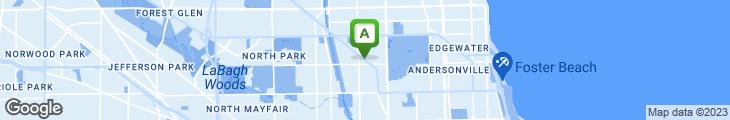 Map of Cedar Grill Restaurant & Cage