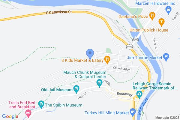 410 Center Ave, Jim Thorpe, PA 18229, USA