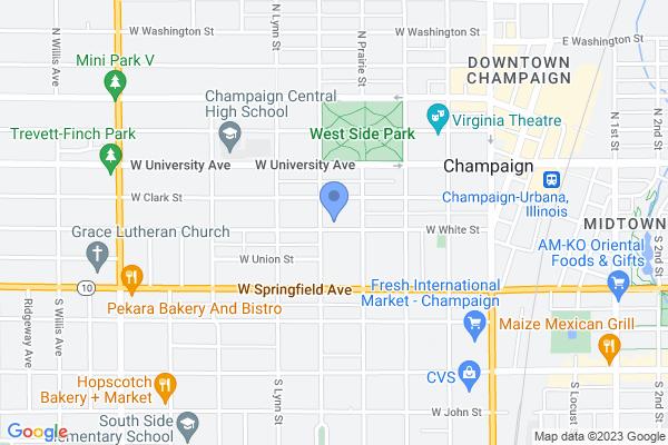 410 W White St, Champaign, IL 61820, USA