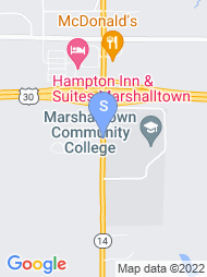 Marshalltown Community College map