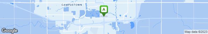Map of Hickory Park Restaurant