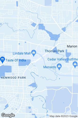 Map of Cedar Rapids
