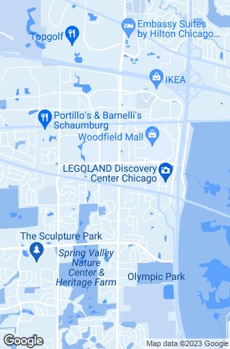 Map of Schaumburg