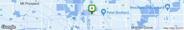 Map of Omega Restaurant & Pancake House