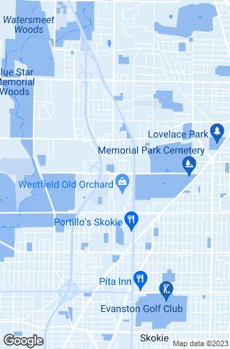 Map of Skokie