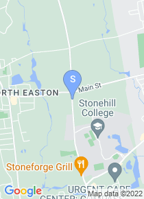 Stonehill College map