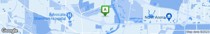 Map of Bennigan's Grill & Tavern