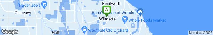 Map of Prairie Joe's