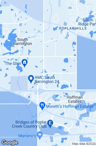 Map of Hoffman Estates