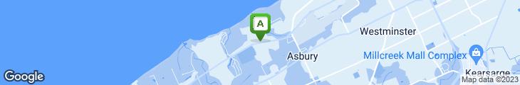 Map of Teresa's Deli-Lakeshore