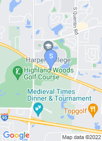 Harper College map