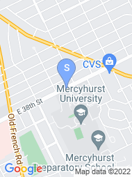 Mercyhurst College map
