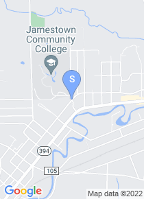 Jamestown Community College map