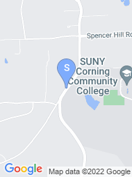 Corning Community College map