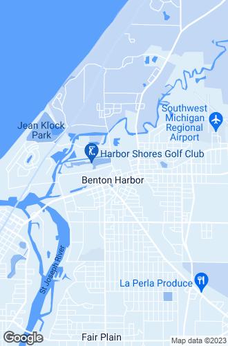 Map of Benton Harbor