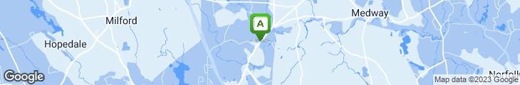 Map of Rosewood Restaurant