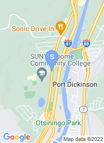 Broome Community College map