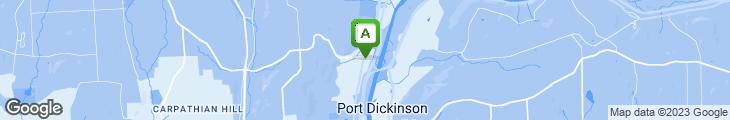 Map of Spot Restaurant