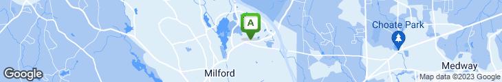 Map of Milford Mandarin