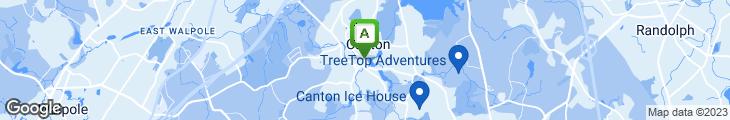 Map of D&E Subs & Pizza Shop
