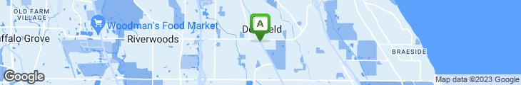 Map of Potbelly Sandwich Shop