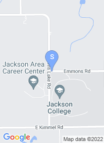 Jackson Community College map