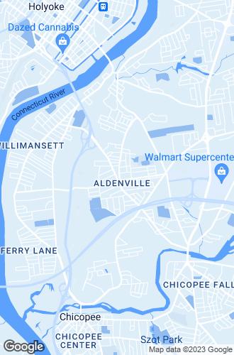 Map of Chicopee