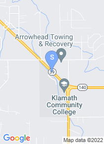 Klamath Community College map