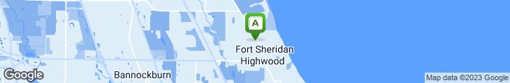 Map of Hoagie Hut