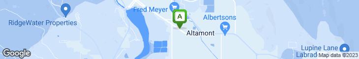 Map of Elmer's Restaurant