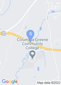 Columbia Greene Community College map